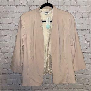 Kensie | NWT Rebekah Blush Pink Blazer Jacket XL
